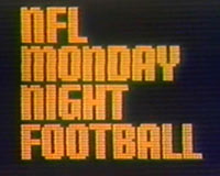 Nfl Throwback Thursday The First Monday Night Football Game Ever Played Rayonsports Com
