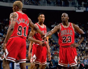 Jordan, Pippen, Rodman